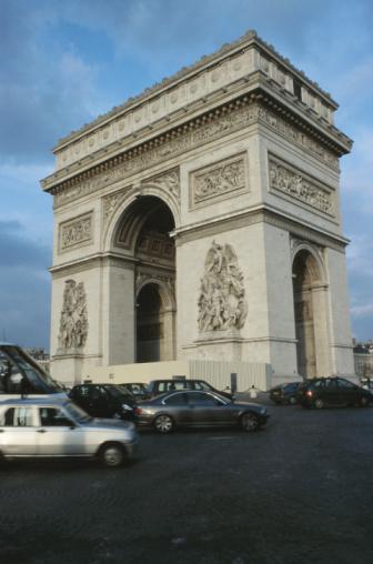 Arc de Triomphe - Paris「Arc de Triomphe, Paris, France」:スマホ壁紙(17)