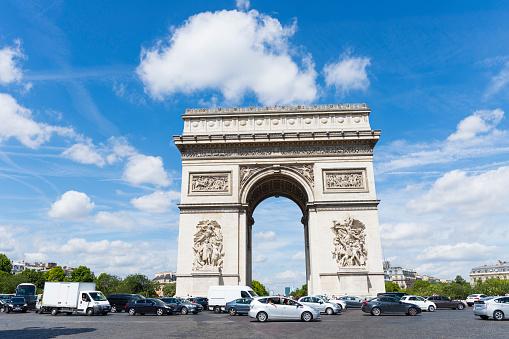 Arc de Triomphe - Paris「Arc De Triomphe, Paris, France」:スマホ壁紙(3)