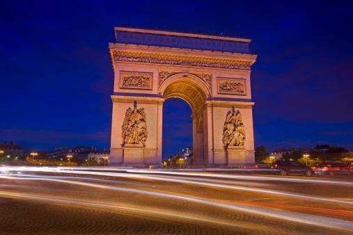 Arc de Triomphe - Paris「Arc de Triomphe, Paris, France」:スマホ壁紙(12)