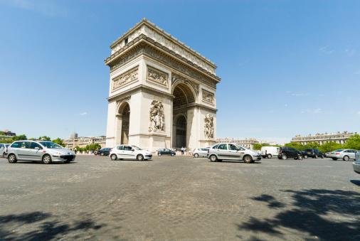 Arc de Triomphe - Paris「Arc de Triomphe, Paris, France」:スマホ壁紙(4)