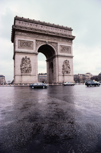 Arc de Triomphe - Paris「Arc de Triomphe, Paris, France」:スマホ壁紙(6)