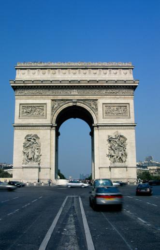 Arc de Triomphe - Paris「Arc de Triomphe, Paris, France」:スマホ壁紙(9)