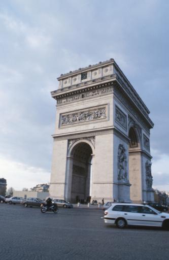 Arc de Triomphe - Paris「Arc de Triomphe, Paris, France」:スマホ壁紙(16)