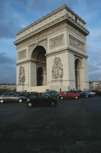 Arc de Triomphe - Paris「Arc de Triomphe, Paris, France」:スマホ壁紙(15)