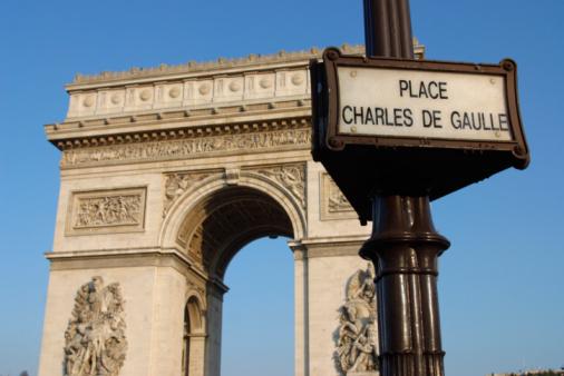 Arc de Triomphe - Paris「Arc de Triomphe in Paris , France」:スマホ壁紙(18)