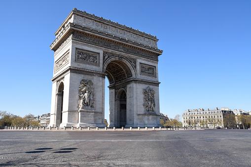 Arc de Triomphe - Paris「Arc de Triomphe in Paris, France」:スマホ壁紙(18)