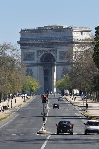 Arc de Triomphe - Paris「Arc de Triomphe in Paris, France」:スマホ壁紙(15)