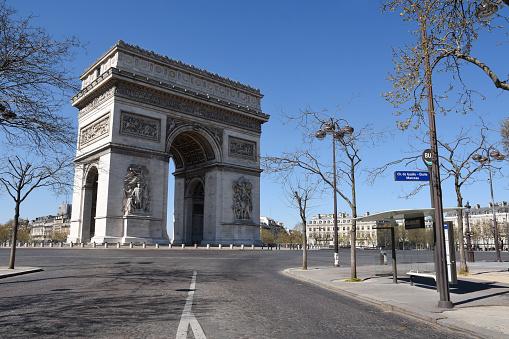 Arc de Triomphe - Paris「Arc de Triomphe in Paris, France」:スマホ壁紙(14)