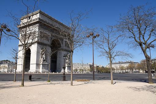 Arc de Triomphe - Paris「Arc de Triomphe in Paris, France」:スマホ壁紙(19)