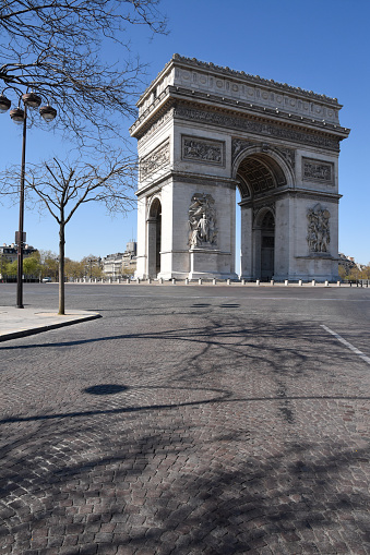 Arc de Triomphe - Paris「Arc de Triomphe in Paris, France」:スマホ壁紙(17)