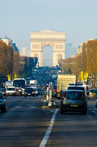 Arc de Triomphe - Paris「Arc de Triomphe, Paris」:スマホ壁紙(9)