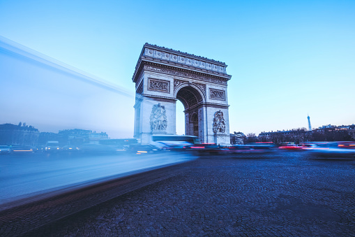 Arc de Triomphe - Paris「Arc de Triomphe, Paris」:スマホ壁紙(5)