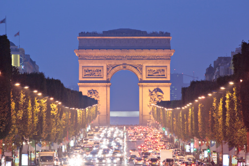Arc de Triomphe - Paris「Arc de Triomphe - Paris」:スマホ壁紙(4)