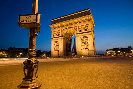 Arc de Triomphe - Paris「Arc de Triomphe Paris」:スマホ壁紙(6)