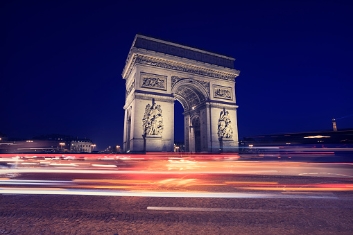 Place Charles-de-Gaulle - Paris「Arc de Triomphe, Paris」:スマホ壁紙(18)