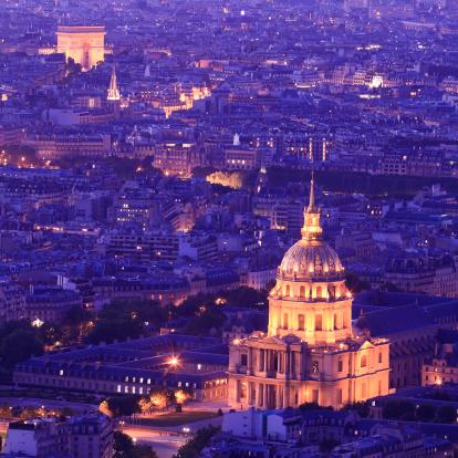 Arc de Triomphe - Paris「Arc de Triomphe & Les Invalides - Paris」:スマホ壁紙(9)
