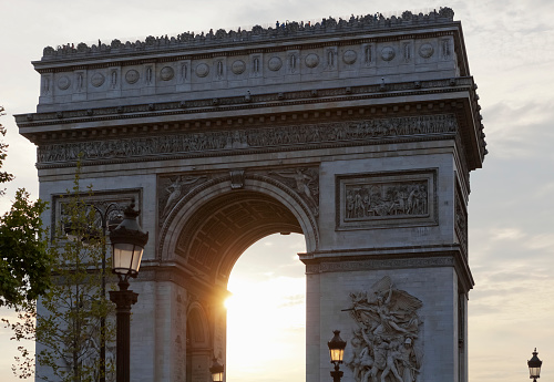 Arc de Triomphe - Paris「Arc de Triomphe」:スマホ壁紙(13)