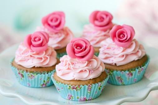 Dessert Topping「Vintage cupcakes」:スマホ壁紙(7)
