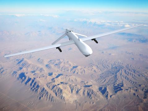 無人航空機「無人車(UAV)空から見た」:スマホ壁紙(0)