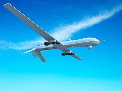 無人航空機「無人車(UAV)空から見た」:スマホ壁紙(15)