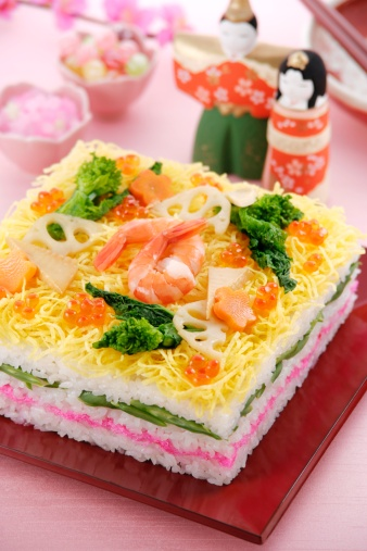 Doll「Sushi for Hinamatsuri festival」:スマホ壁紙(12)