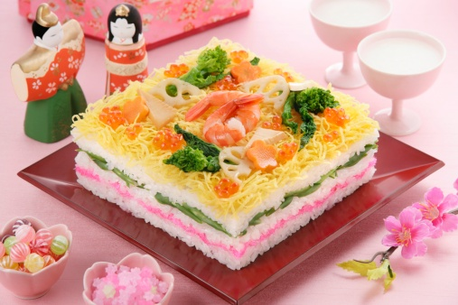 Doll「Sushi for Hinamatsuri festival」:スマホ壁紙(7)