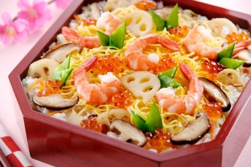 ひな祭り「Sushi for Hinamatsuri festival」:スマホ壁紙(1)
