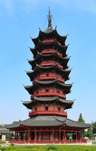 Temple「Ruiguang 、中国の塔」:スマホ壁紙(15)