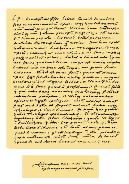 Writing「Autograph: Desiderius Erasmus, 1525.」:写真・画像(18)[壁紙.com]