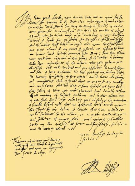 Writing「Autograph: Sir Walter Ralegh, 1586.」:写真・画像(12)[壁紙.com]