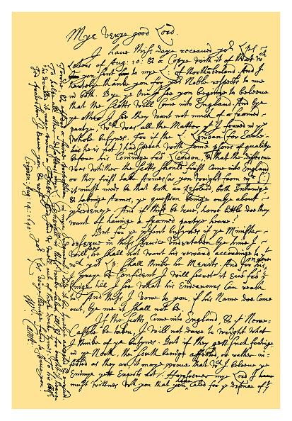 Manuscript「Autograph: William Laud, Archbishop of Canterbury, 1640.」:写真・画像(15)[壁紙.com]