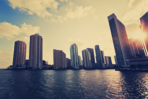 Miami Beach「マイアミの街並み」:スマホ壁紙(11)