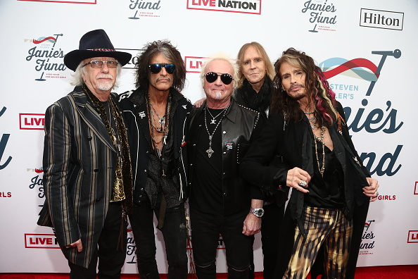 Aerosmith「Steven Tyler's 2nd Annual GRAMMY Awards Viewing Party To Benefit Janie's Fund Presented By Live Nation - Red Carpet」:写真・画像(19)[壁紙.com]