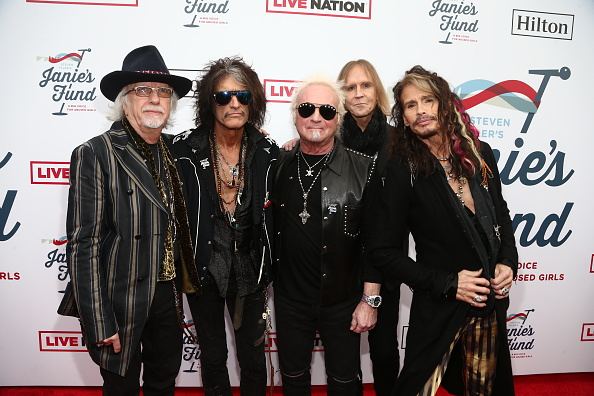 Aerosmith「Steven Tyler's 2nd Annual GRAMMY Awards Viewing Party To Benefit Janie's Fund Presented By Live Nation - Red Carpet」:写真・画像(0)[壁紙.com]