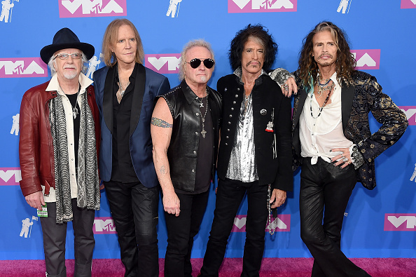 Aerosmith「2018 MTV Video Music Awards - Arrivals」:写真・画像(8)[壁紙.com]