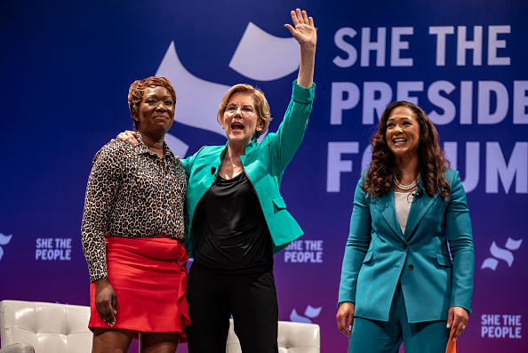 """Texas Southern University「Democratic Presidential Candidates  Attend """"She The People"""" Forum In Houston」:写真・画像(3)[壁紙.com]"""