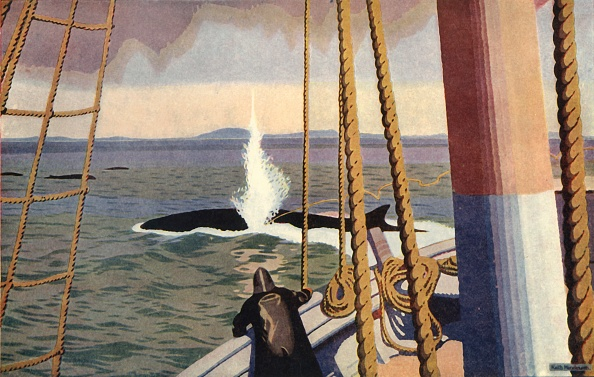 Ship「Whaling In The Antarctic Creator: Keith Henderson」:写真・画像(19)[壁紙.com]