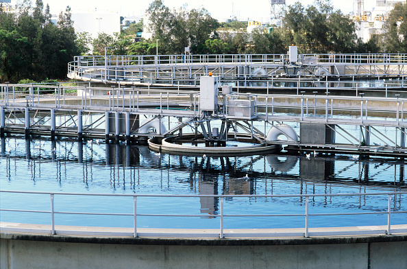 Queensland「Settling tanks at the wastewater plant for the Brisbane Western Corridor waste re-use scheme」:写真・画像(14)[壁紙.com]