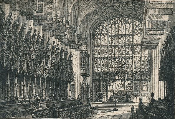 Bench「St GeorgeS Chapel: The Choir」:写真・画像(5)[壁紙.com]