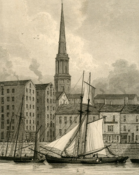 Waterfront「St. Georges Church From The Docks」:写真・画像(14)[壁紙.com]