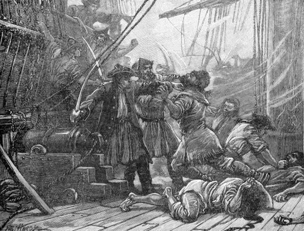 18th Century Style「Revenue cutters capturing American smuggling ship」:写真・画像(3)[壁紙.com]