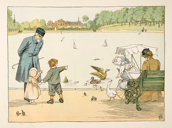 Kensington Gardens「The Park Keeper」:写真・画像(1)[壁紙.com]