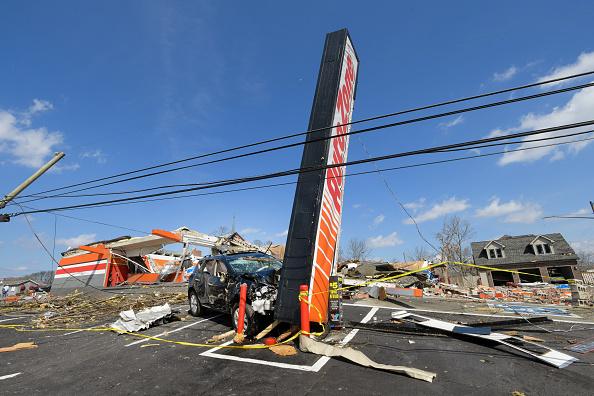 Nashville「Over 20 Dead After Tornadoes Roar Across Tennessee, Including Nashville」:写真・画像(8)[壁紙.com]