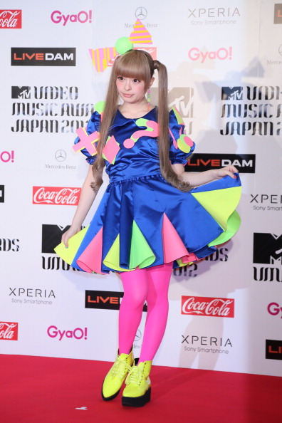 Kyary Pamyu Pamyu「MTV Video Music Japan 2012 - Red Carpet」:写真・画像(9)[壁紙.com]