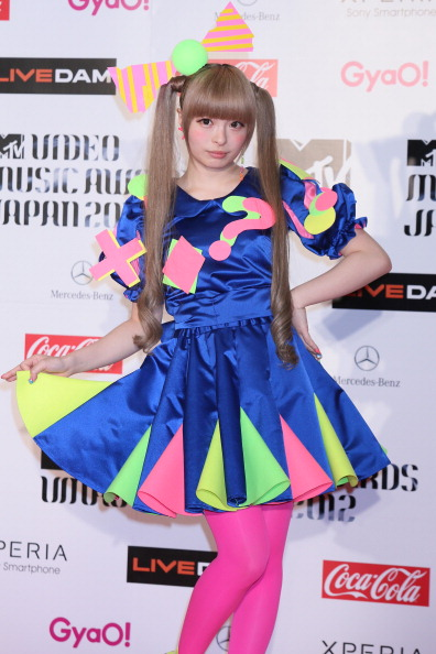 Kyary Pamyu Pamyu「MTV Video Music Japan 2012 - Red Carpet」:写真・画像(8)[壁紙.com]