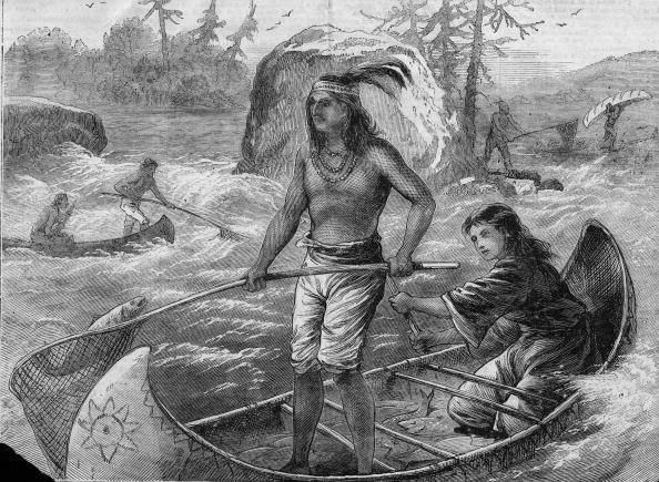 Pacific Northwest「Objiwe Fishing On The Columbia River」:写真・画像(4)[壁紙.com]