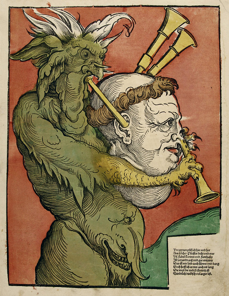 Woodcut「Luther As The Devils Bagpipes,」:写真・画像(5)[壁紙.com]