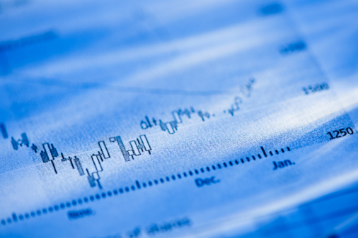 Stock Market and Exchange「Banking charts」:スマホ壁紙(12)