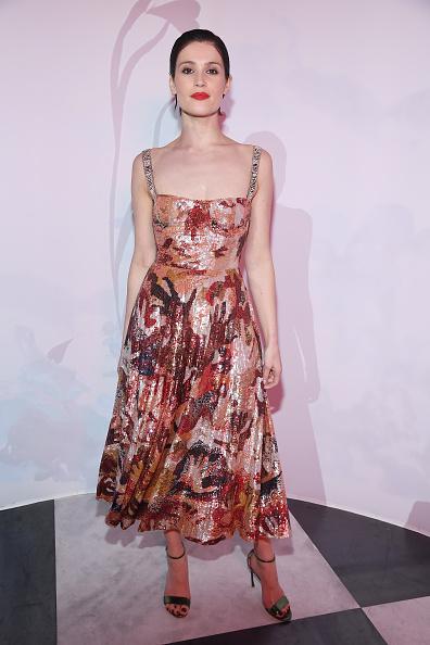 Gemma Arterton「'Le Bal Surrealiste' Dior - Paris Fashion Week - Haute Couture Spring Summer 2018」:写真・画像(2)[壁紙.com]
