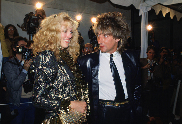 Evening Wear「Rod Stewart and Alana Hamilton, USA」:写真・画像(14)[壁紙.com]